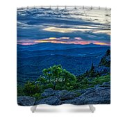 Sunset Gfm Shower Curtain by Meta Gatschenberger