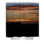 Sunset In Southern Missouri Shower Curtain