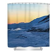 Sunset In The Arctic Shower Curtain