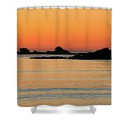 Sunset Over Sunset Bay, Oregon 5 Shower Curtain by Dawn Richards