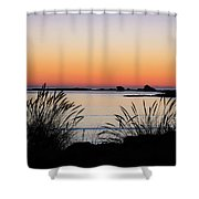 Sunset Over Sunset Bay, Oregon 6 Shower Curtain by Dawn Richards
