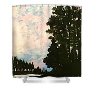 Sunset Sky Shower Curtain