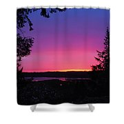 Sunset Summer Shower Curtain