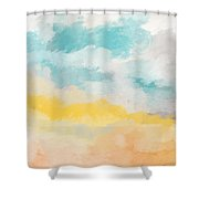 Sunshine Day- Art By Linda Woods Shower Curtain