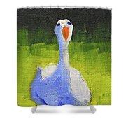 Sunshine Goose Shower Curtain