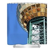Sunsphere In Knoxville, Tn Shower Curtain