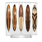 Surf Boards Shower Curtain