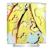 Surfing Pop Shower Curtain