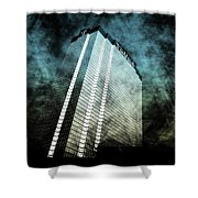 Surrounded By Darkness Shower Curtain