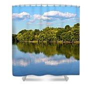 Susquehanna River Shower Curtain