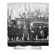 Swedish-american Line Special Party Shower Curtain