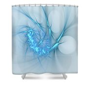 Sweet Blues Shower Curtain