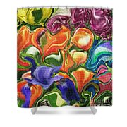 Symphony Of Color Shower Curtain