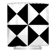 T S 18 Shower Curtain