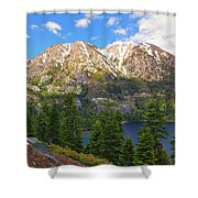 Tahoe Inspiration Point Shower Curtain
