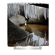 Tahoe Today Shower Curtain by Sean Sarsfield