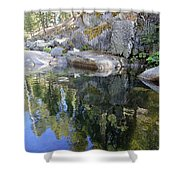 Take In Your Surroundings Shower Curtain by Sean Sarsfield