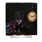 Taking Time Shower Curtain