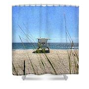 Tamarack Beach Shower Curtain