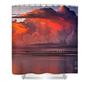 Tampa Bay Storm Shower Curtain