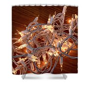Tangled Lights Shower Curtain