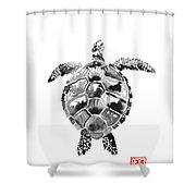 Tartoise Shower Curtain