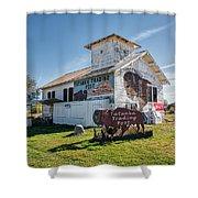 Tatanka Trading Post Shower Curtain