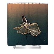 Taungthaman Lake Shower Curtain