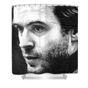 Ted Bundy Court Shower Curtain