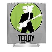 Teddybear Shower Curtain