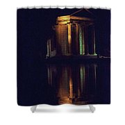 Temple Of Asclepius Shower Curtain