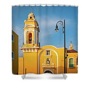 Templo Del Ex-hospital De San Roque Shower Curtain