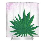 Agave Print Shower Curtain