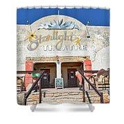 Terlingua Starlight Theatre2 Shower Curtain