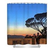 Terrazza Del Pincio Shower Curtain