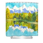 Teton Impressions Shower Curtain