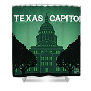 Texas Capitol Shower Curtain