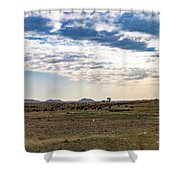 Thaba Nchu Landscape Shower Curtain