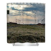 Thaba Nchu Railway Shower Curtain