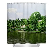 Thames At Reading Shower Curtain