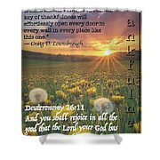 Thankful 26 11 Shower Curtain