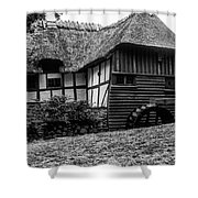 Thatched Watermill 2 Shower Curtain