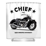 The 1947 Chief Shower Curtain