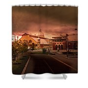 The Aberdeen Pavilion Built In 1898 Is The Centrepiece Of Ottawa's Lansdowne Park. Shower Curtain by Juan Contreras