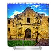 The Alamo Mission Shower Curtain