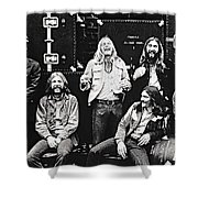 The Allman Brothers Band Shower Curtain