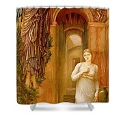 The Annnciation 1879 Shower Curtain