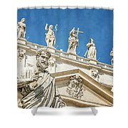 The Apostle Peter Vatican City Shower Curtain