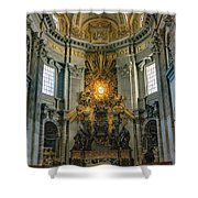 The Aspe Of St. Peter's Shower Curtain