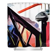 The Bannister Shower Curtain